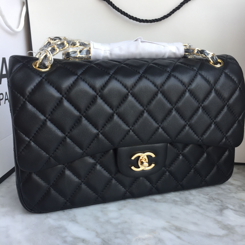 b7bdc7932 Chanel 2.55 classic flap bag jumbo lambskin leather 1:1   Bolsas e ...