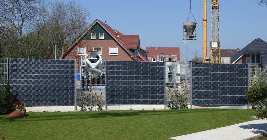 Sichtschutz Sichtschutzzaun Aus Doppelstabmatten Moderner Zaun