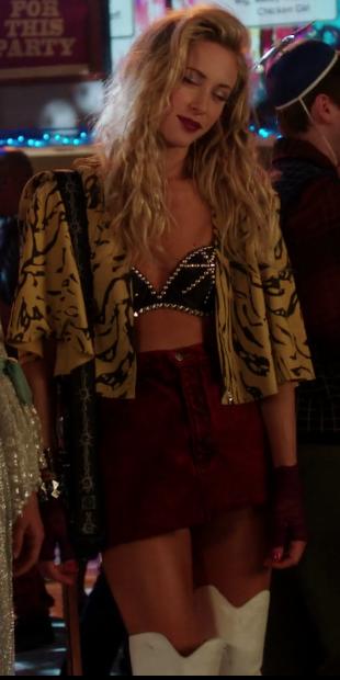 80s Rocker Chick Dress Up Rocker Chick Rocker Costume 80s Fashion