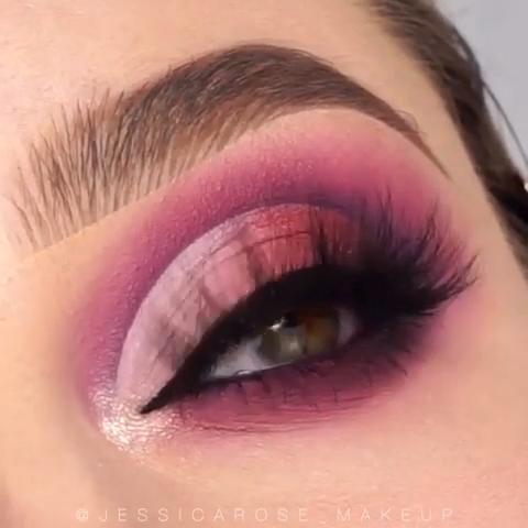 BEAUTIFUL PURPLE EYE MAKEUP TUTORIAL #purplemakeup #makeuptutorial