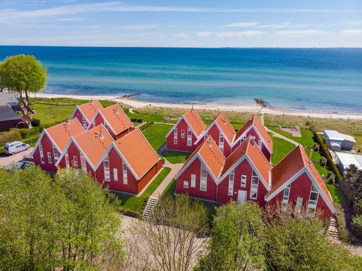 Urlaub im Ferienhaus an der Ostsee direkt am Strand