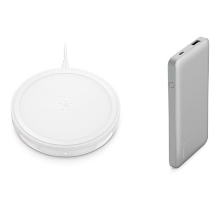 Belkin White Boostup Bold Wireless Charging Pad 10W and