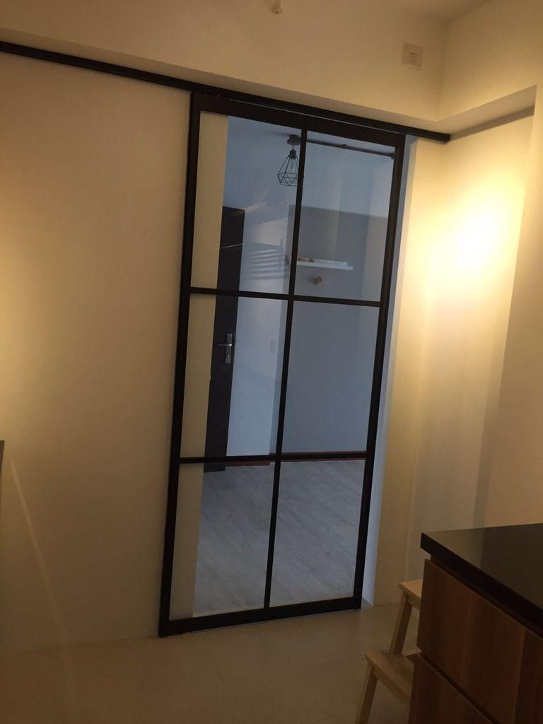 Wood X White X Grey Kitchen Doors Kitchen Sliding Doors Interior Door Colors