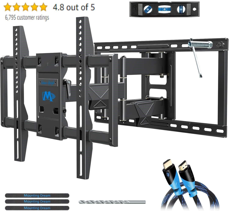 Full motion tv mount wall bracket tv wall mounts for 4275
