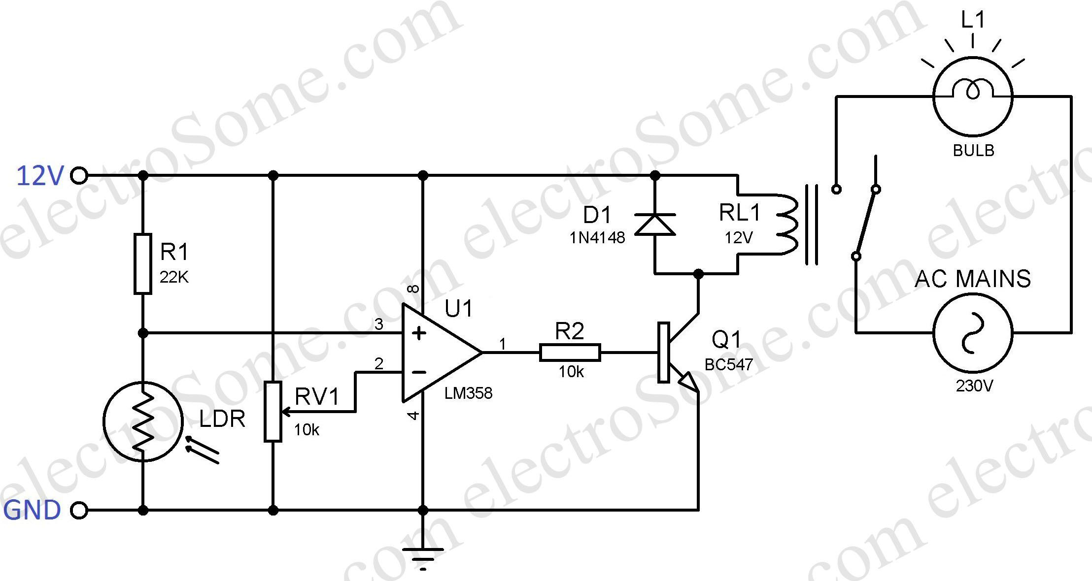 Solar Street Light Block Diagram Solar Street Light Circuit