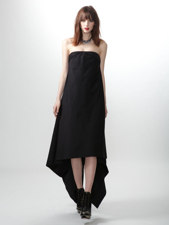 7b1b886e44d6 Cotton Cape Dress by Rick Owens at Gilt   Clothes, shoes, bags etc ...
