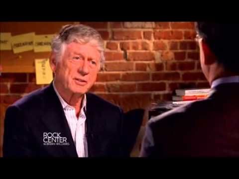 Colbert interviewed by Ted Koppel about his Super PAC (January 13, 2012)