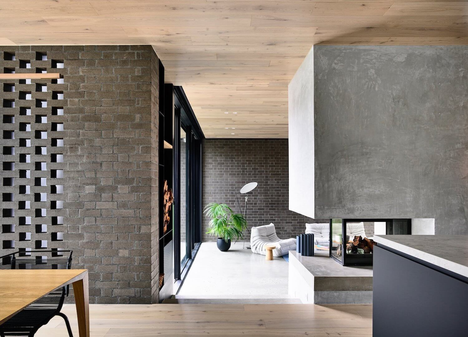 Red brick renovation by jackson clements burrows architects u003eu003ehome