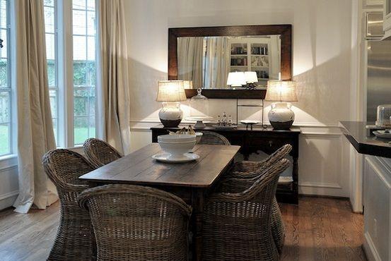 Delightful Room · Dining Room Buffet Decorating Ideas ...