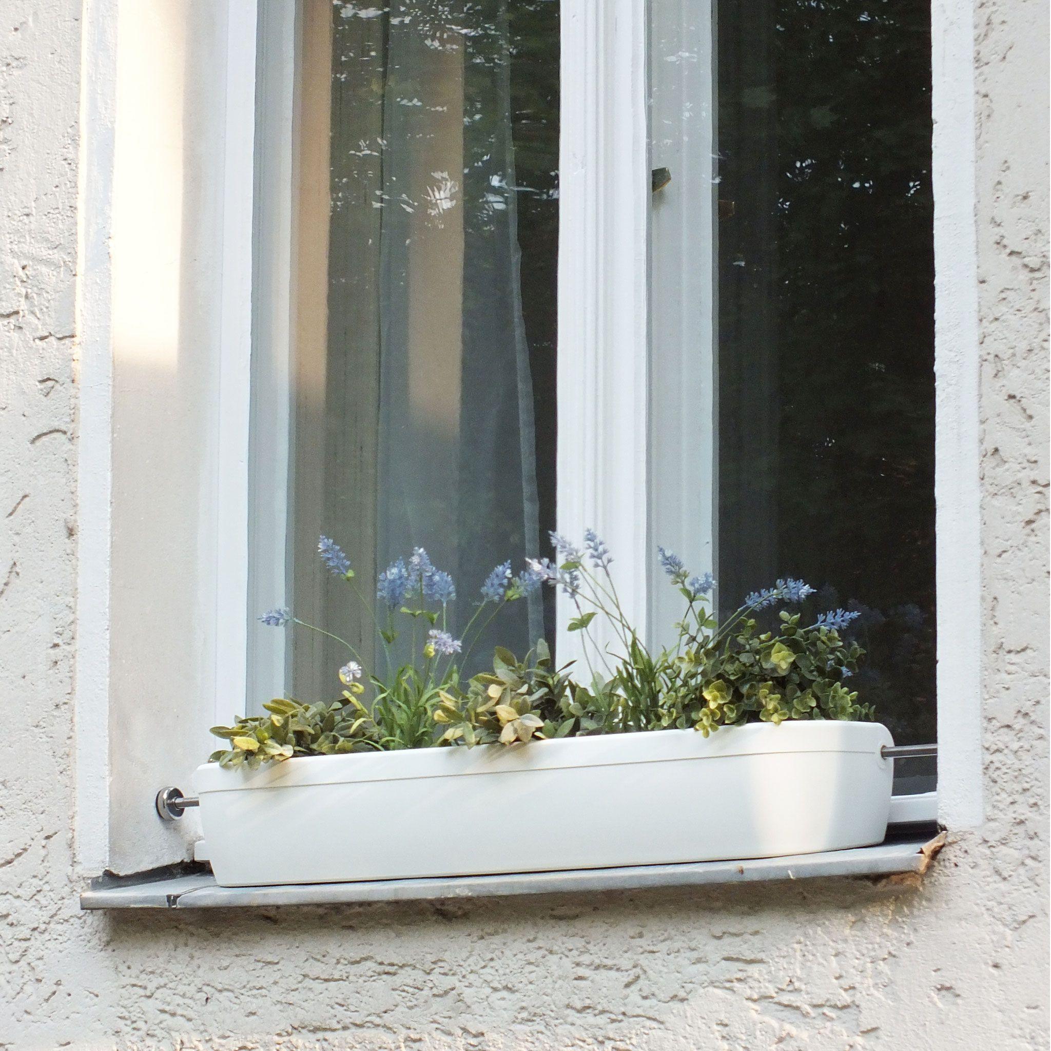 Design Fenster Blumenkasten ohne Bohren original