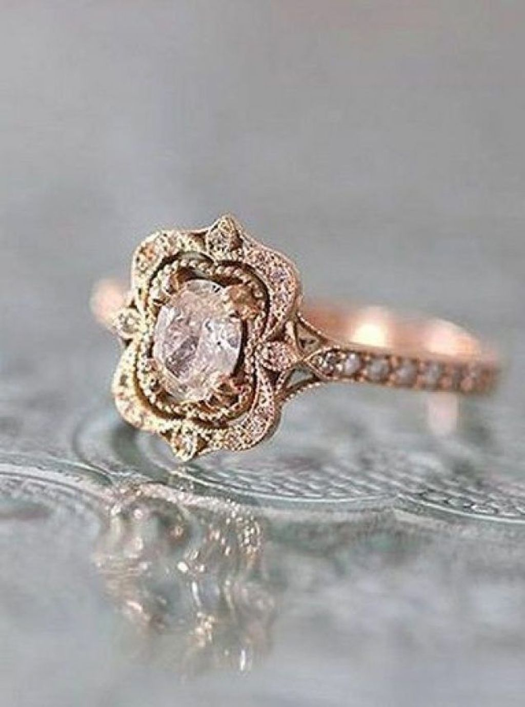 Beautiful Vintage Style Engagement Rings Ideas Accessories