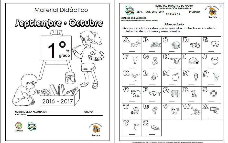 Material Didactico Para Primer Grado De Primaria Pdf Buscar Con