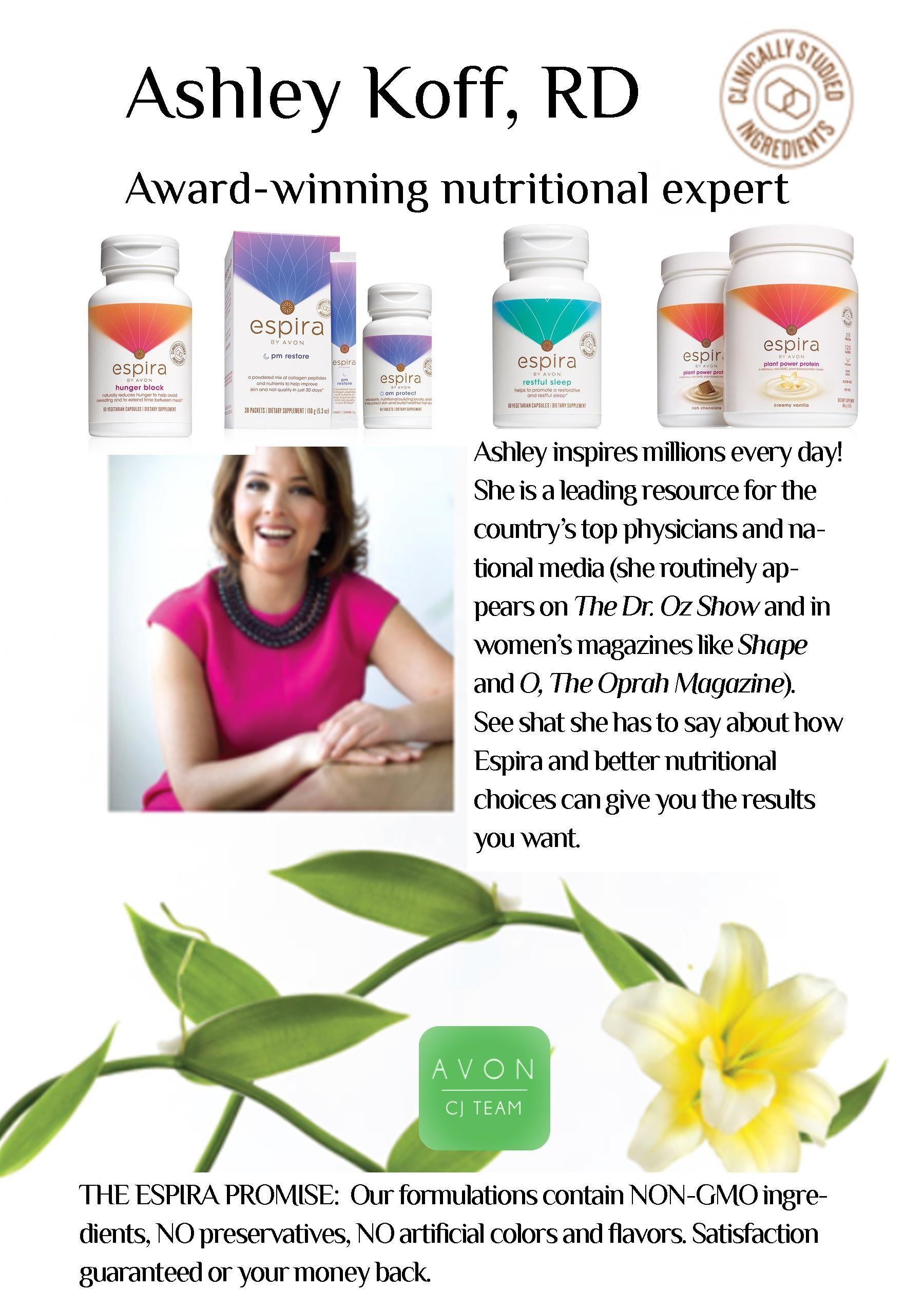Award Winning Nutritional Expert Ashley Koff Rd