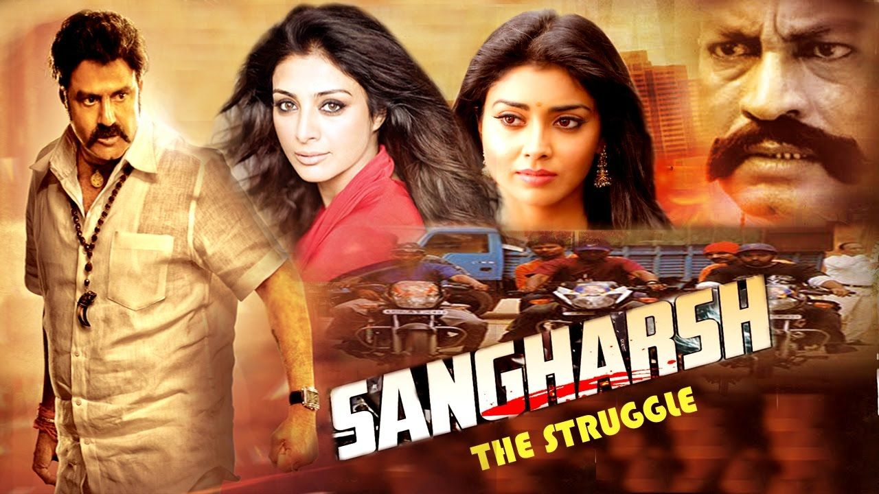 Sangharsh The Struggle South Dubbed Action Movie Balakrishna
