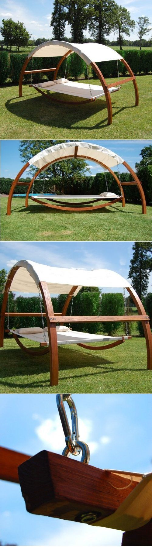 Relax in nature with a cozy swing bed abril pinterest swings