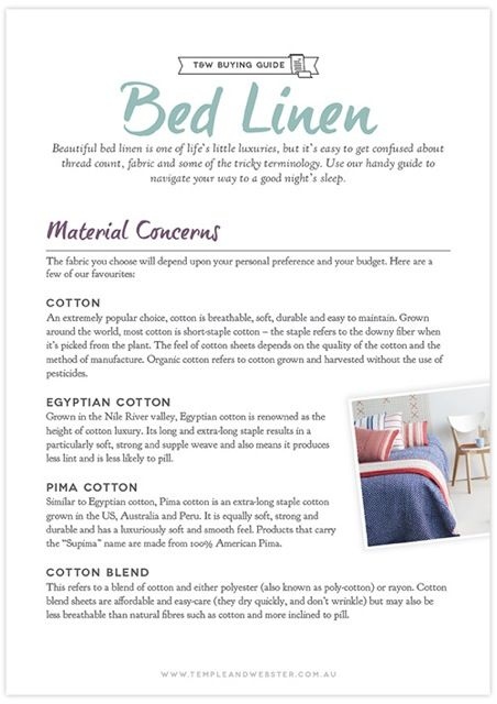 Charmant Bed Linen Buying Guide   Free Download