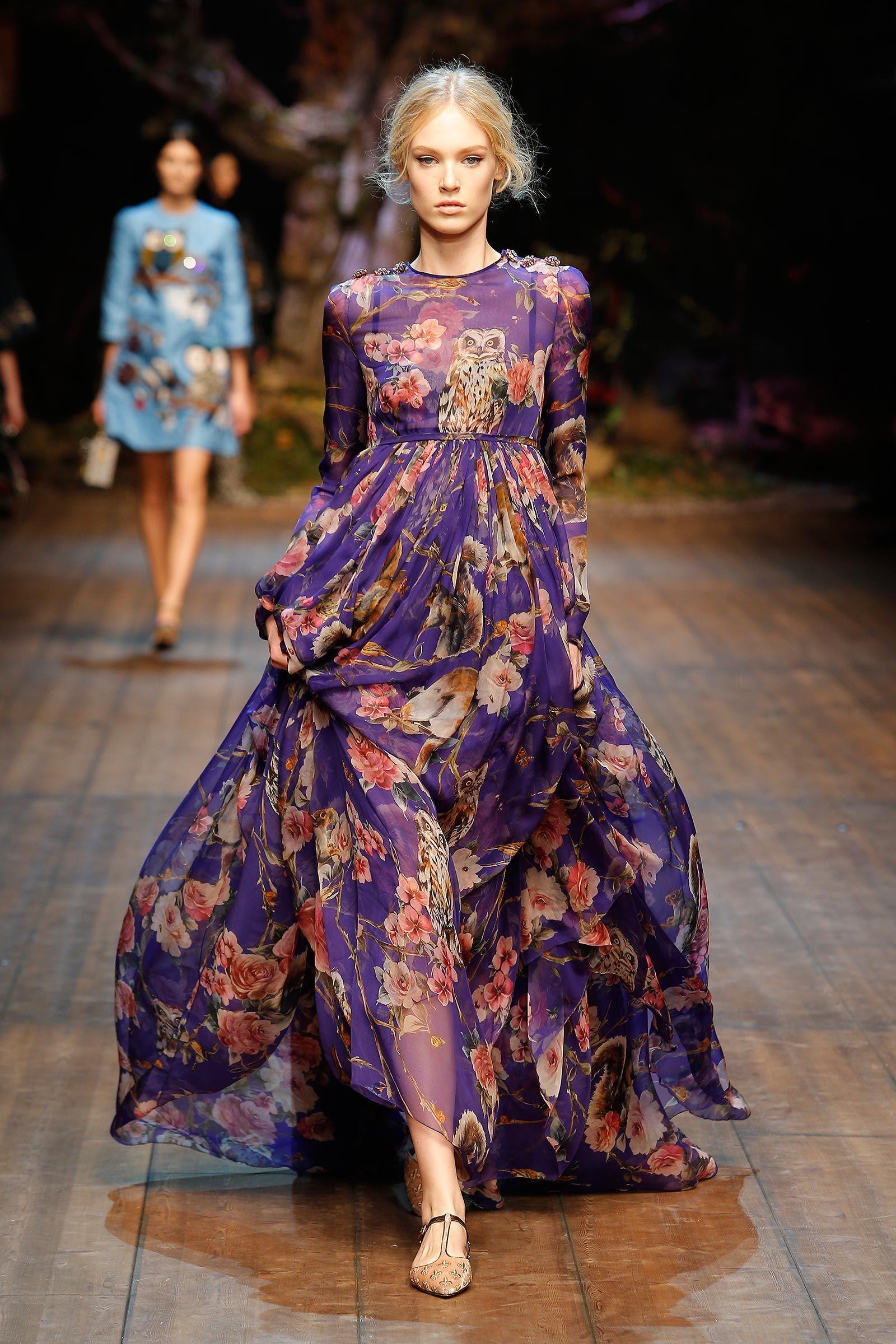 Dolce   Gabbana Gallery Passerella Sfilata Donna – Autunno Inverno 2014 2015 0f171d569a5
