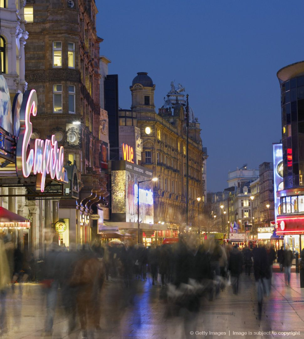 England London Leicester Square Ef Follow Map ' Edges And Londres