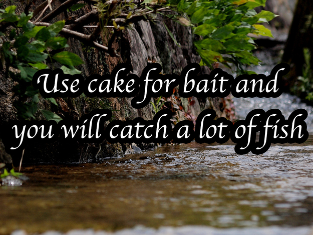 If you want to pull out all the stops: | 10 Fishing Superstitions That Double As Dating Advice