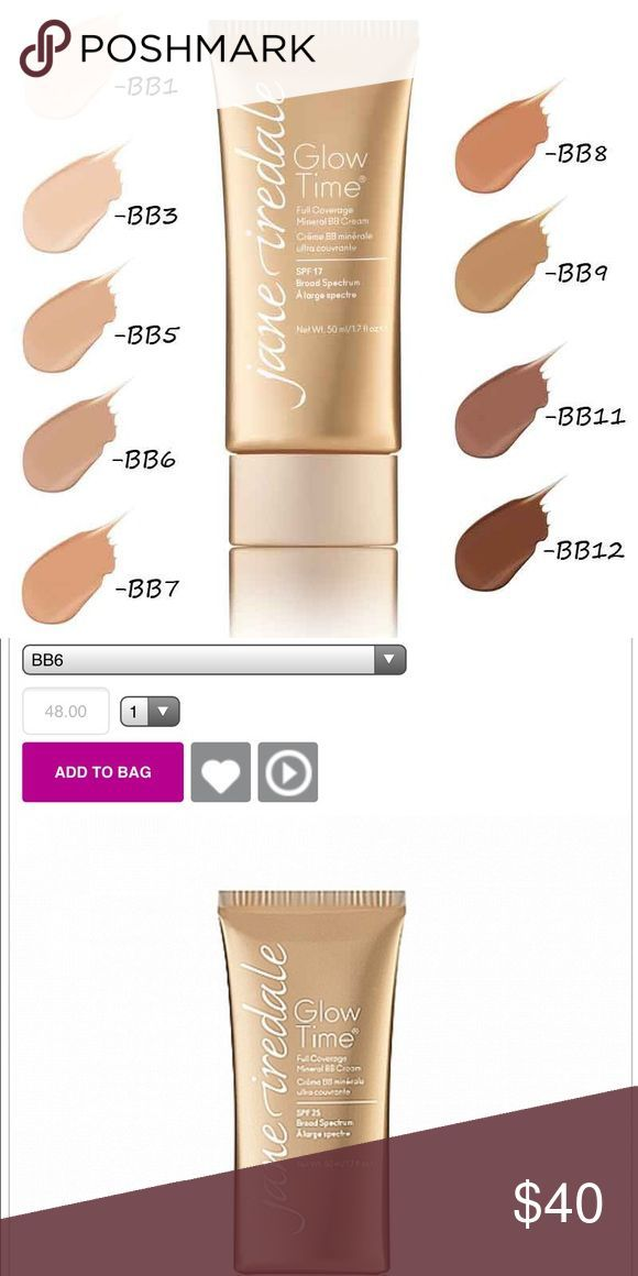 Jane Iredale Glow Time Full Coverage Bb Cream Jane Iredale