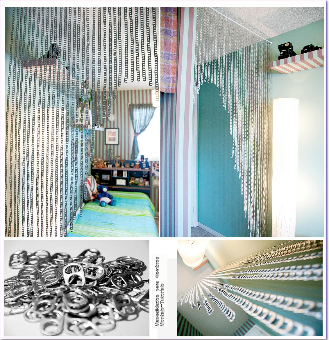 Como hacer una cortina con anillas de latas cortinas for Anillas de cortinas