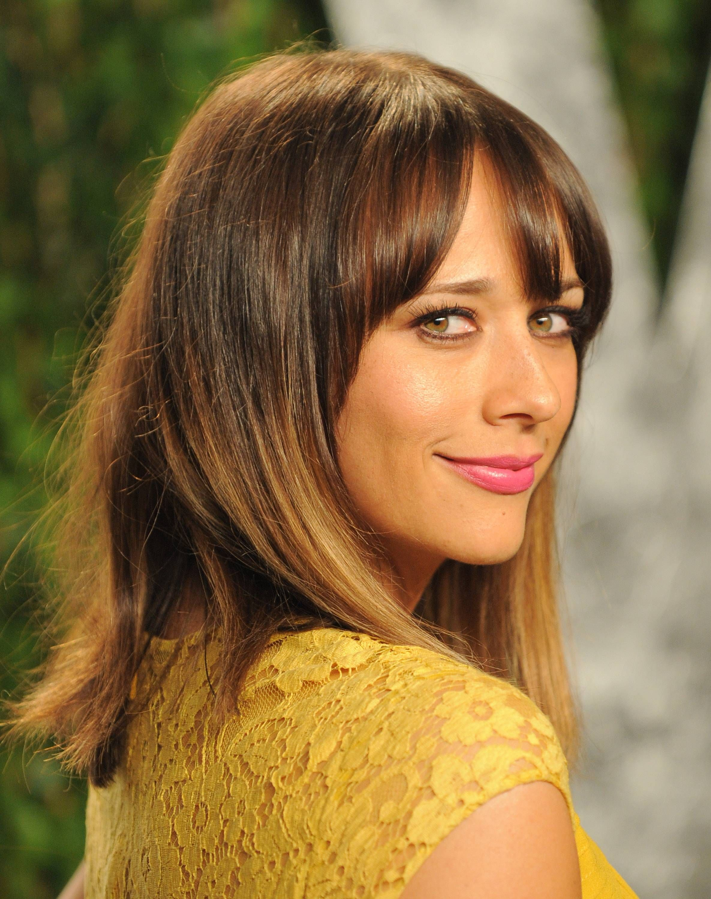 Rashida Jones Rashida Jones Pinterest Rashida Jones Haircuts