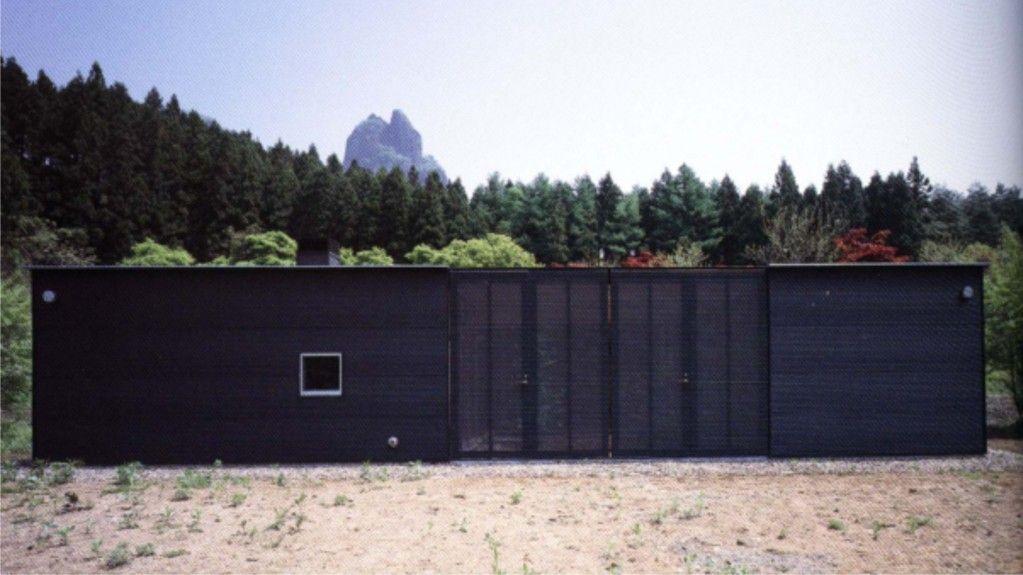 Ryue Nishizawa   Weekend House For The Architect Usui Gun 1998