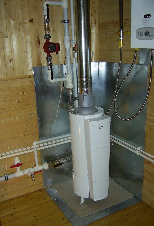 примеры установки газового котла в частном доме