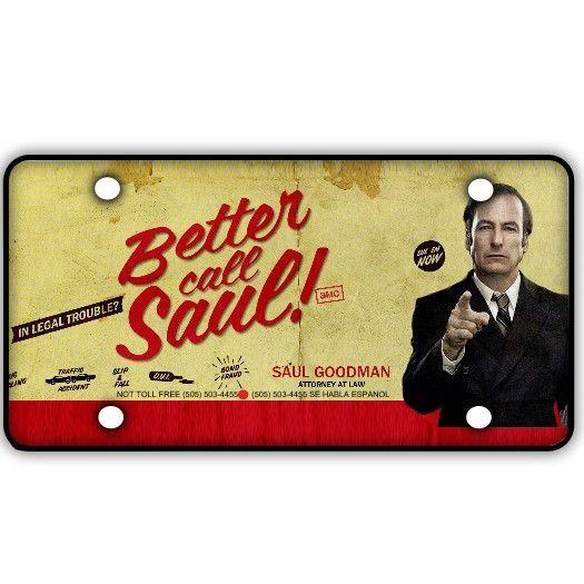 Better Call Saul License Plate Lwyrup Wellness Saul