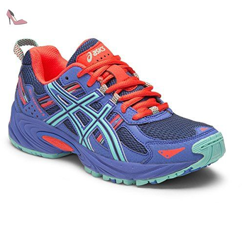 Asics Gel Fortitude 7, Chaussures de Running Compétition Femme, Multicolore (Primrose Purple/Silver/Sport Pink), 37.5 EU