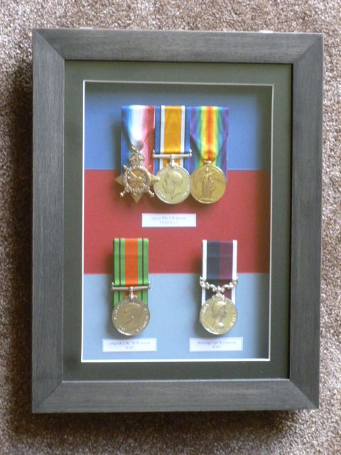 Three Generations Of Family Medals From Ww1 Ww2 And