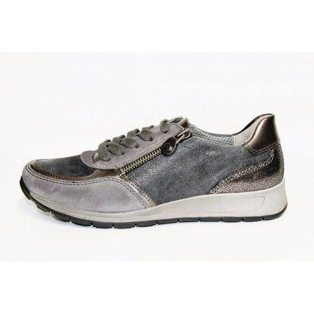 basket ara femme grise livraison offert cardel chaussures. Black Bedroom Furniture Sets. Home Design Ideas