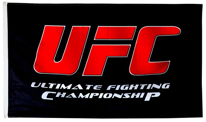 Amazon Com Dimike Ufc Ultimate Fighting Championship Flag 3x5ft Banner Garden Outdoor Ufc Ultimate Fighting Championship Banner