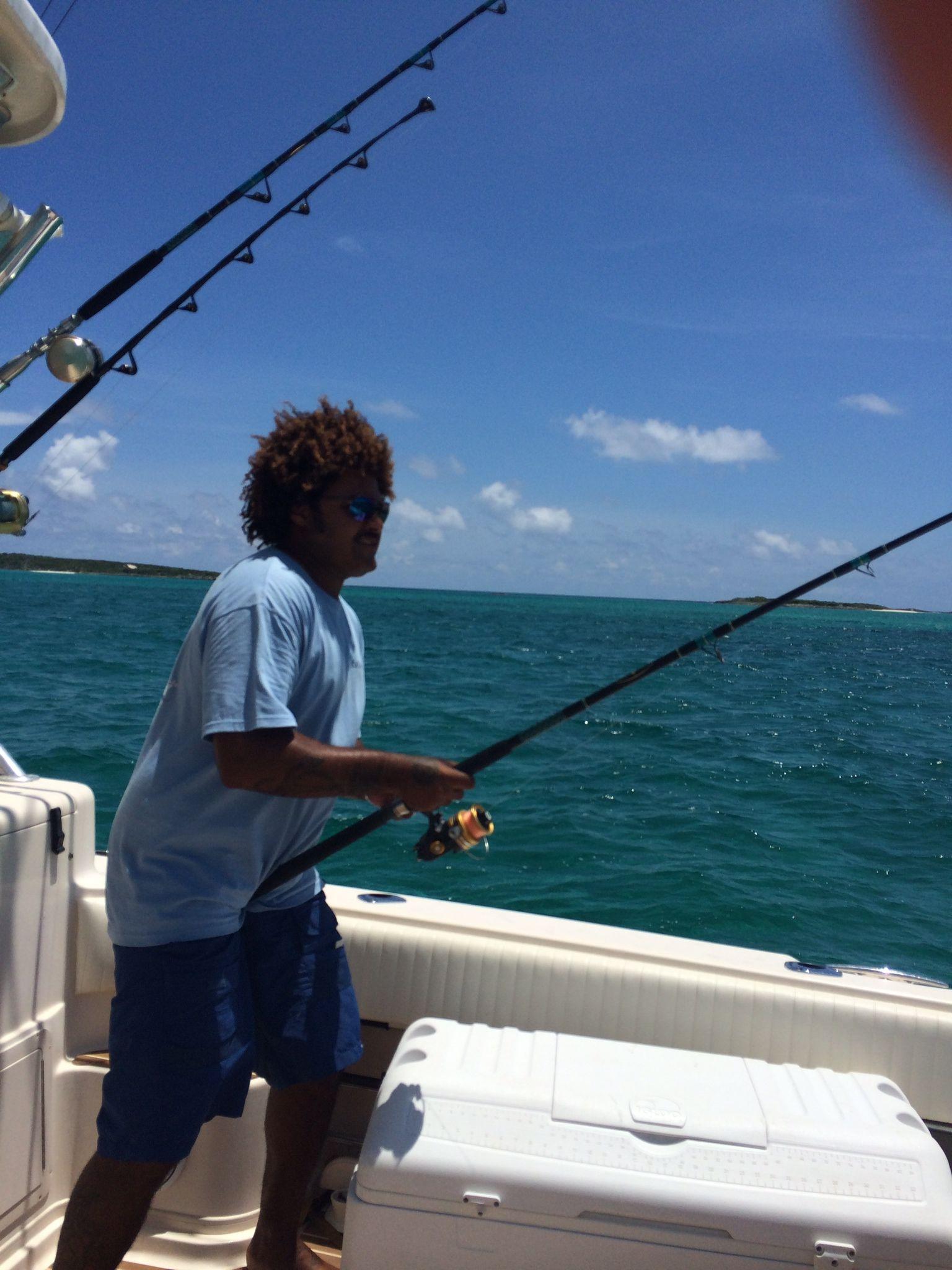 Fishing near Royal Palm Ledard Fishing Bahamas Luxury