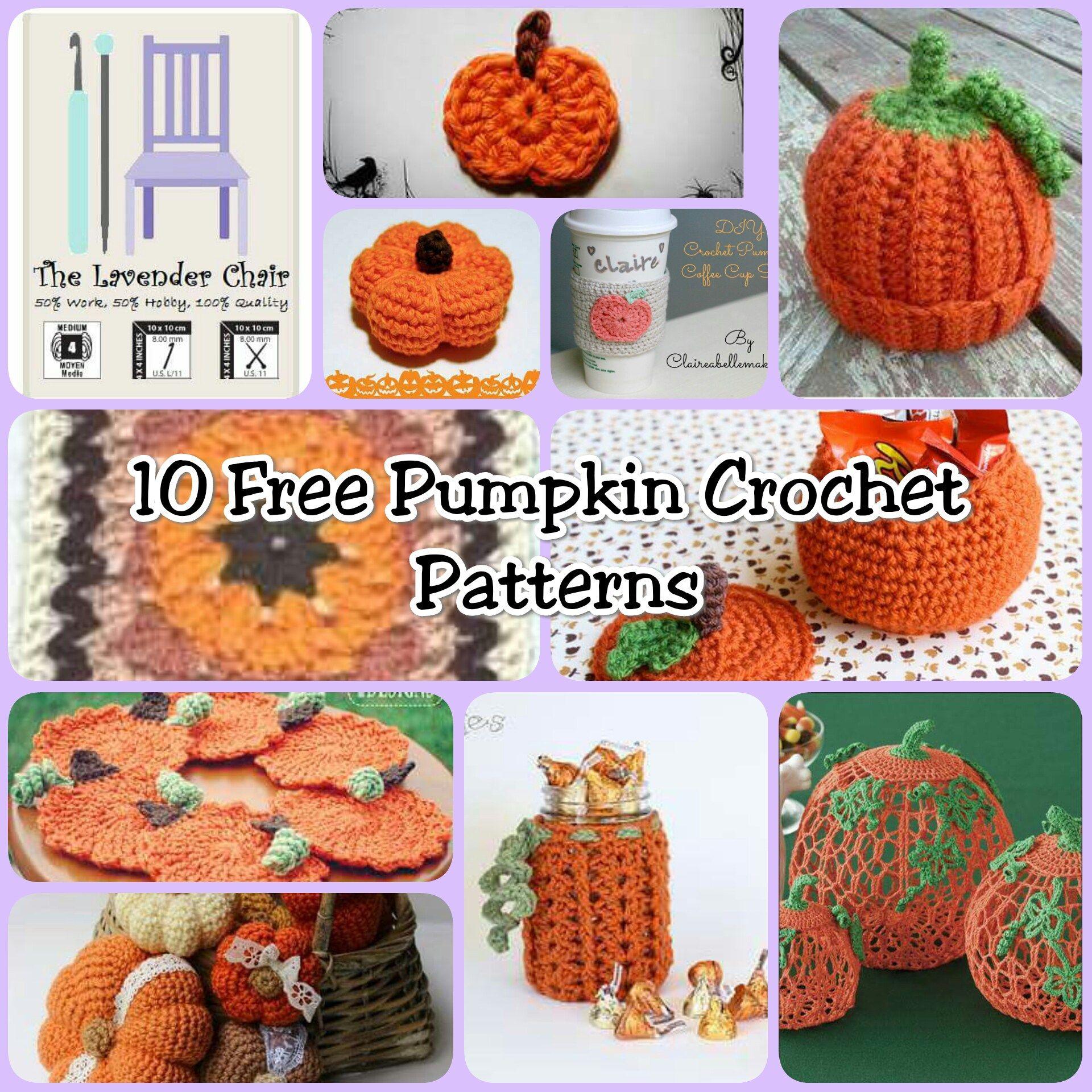 10 Free Pumpkin Crochet Patterns | Holidays | Pinterest