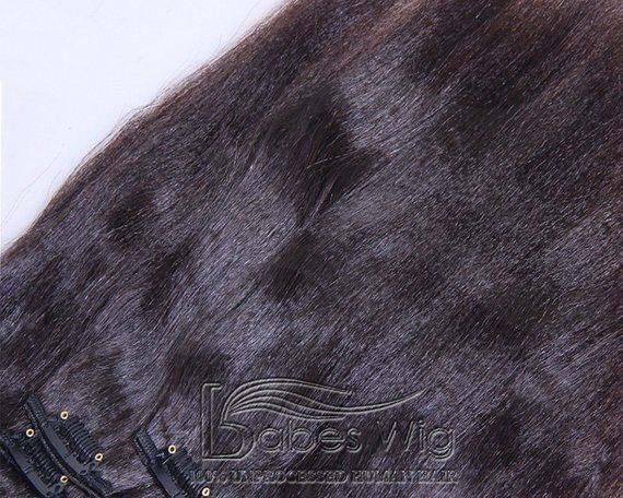 100% real human hair extensions clips in light yaki cheap remy clip in  human hair extensions UK 40101a471