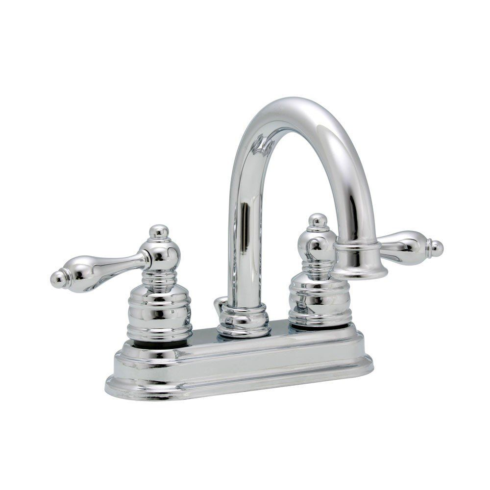 690 Series 4 Inch Sink Faucet Set With Chrome Lever Handles With Images Sink Faucets Bathroom Faucets Chrome Faucet