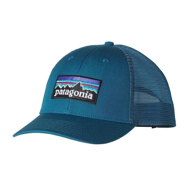 d896eae79d0d3 Patagonia P-6 LoPro Trucker Hat - Underwater Blue UWTB
