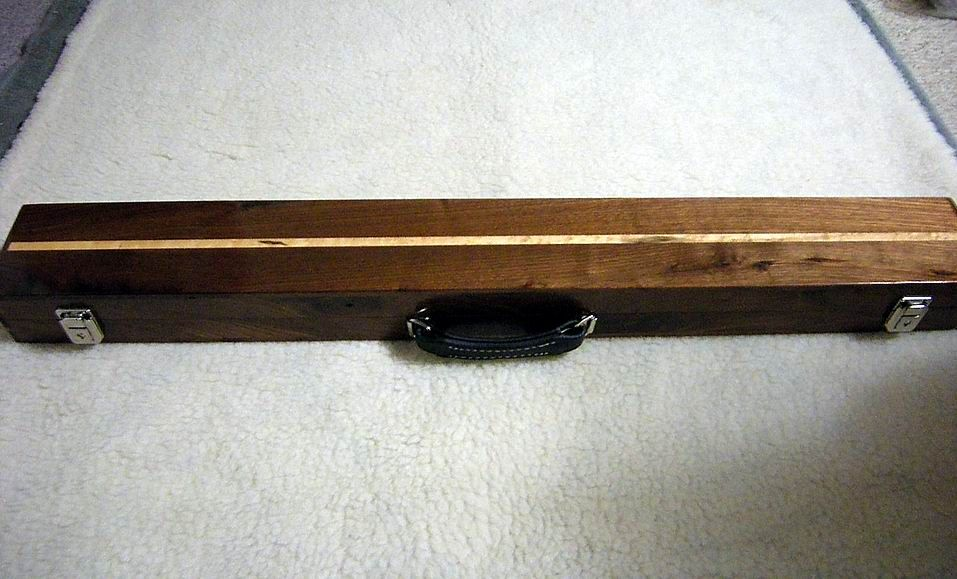 For Sale Wood Cue Case 2 4 Make Me An Offer Azbilliards Com Cue Cases Cue Wood
