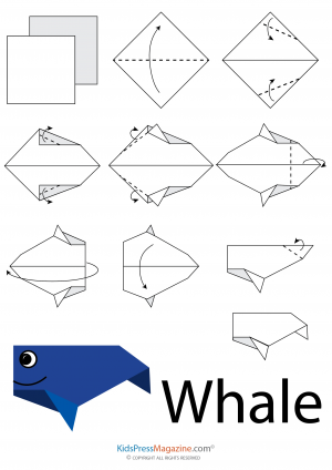 Animal Origami Easy Instructions For Kids To Follow Step By Sea Animals Butterfly And Many Others Creative