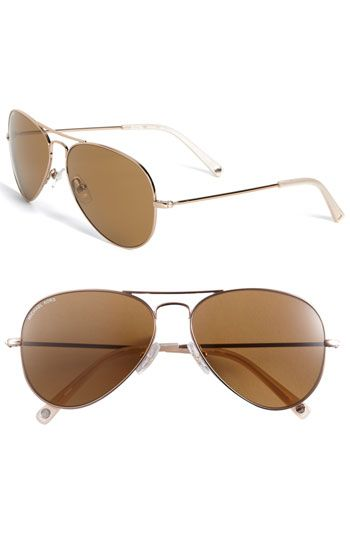 MICHAEL Michael Kors Metal Aviator Sunglasses available at Nordstrom