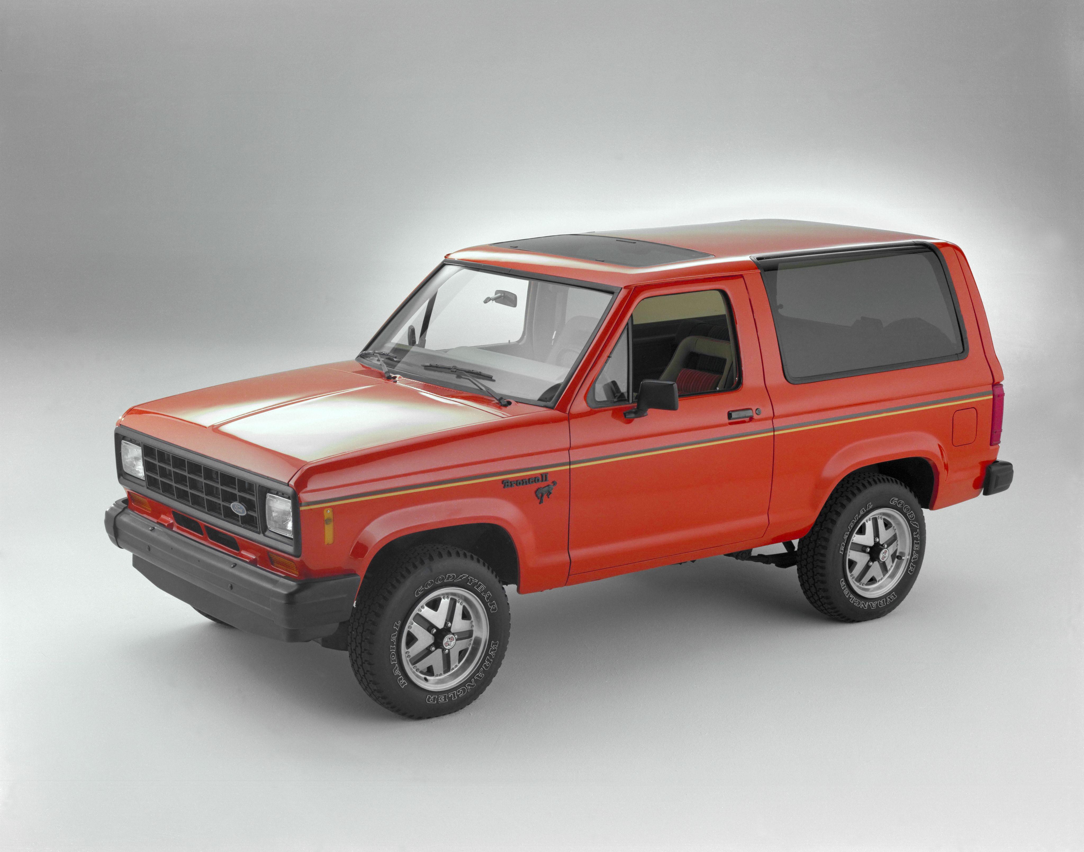 1984 Ford Bronco Ii Ford Bronco Bronco Ii Ford Bronco Ii