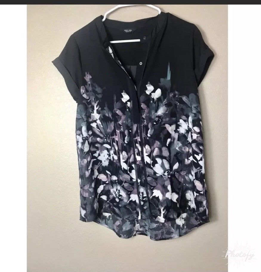 e8f9d14b370 Floral Top Simply Vera #fashion #clothing #shoes #accessories  #womensclothing #tops (ebay link)