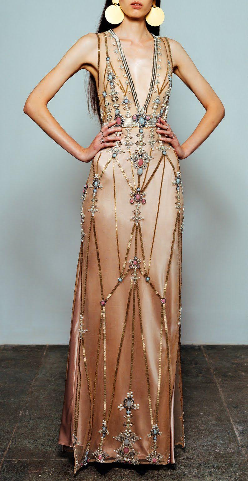 2396a6492b9ffe MUST-HAVE: Cucculelli Shaheen Bijou V-Neck Dresses | Jolie Madame ...