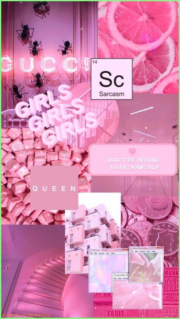 Esthétique rose 💕 in 2020 Pink wallpaper iphone