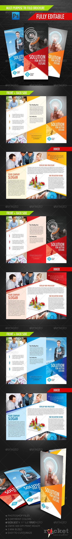 Multi Purpose Tri Fold Brochure - Brochures Print Templates