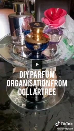 Photo of Diy parfum organization all pieces are from dollartree #parfumorganization #organization #parfum