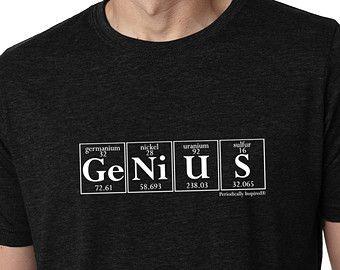 Periodic table tee genius mens black t shirt by periodically periodic table tee genius mens black t shirt by periodically inspired now featured urtaz Gallery