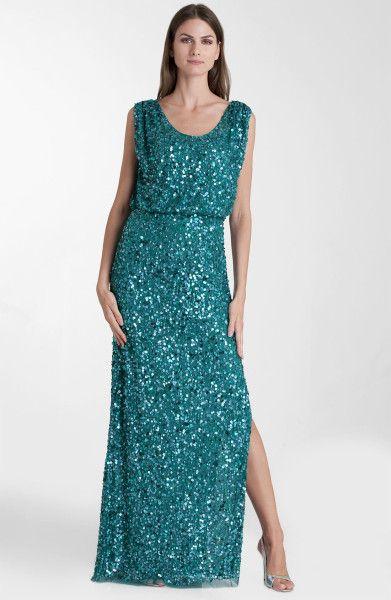 e2f0a34c JS Collections Blouson Bodice Sequin Mesh Gown @Lyst | Haute couture ...