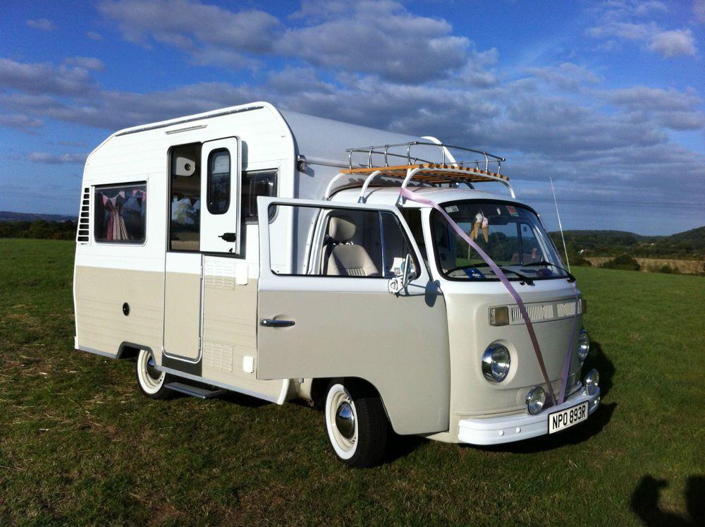 stunning rare vw camper van t2 karmann mobil vw camper. Black Bedroom Furniture Sets. Home Design Ideas